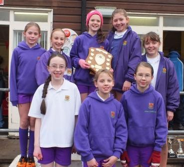 YEAR 7 GIRLS cross country witton