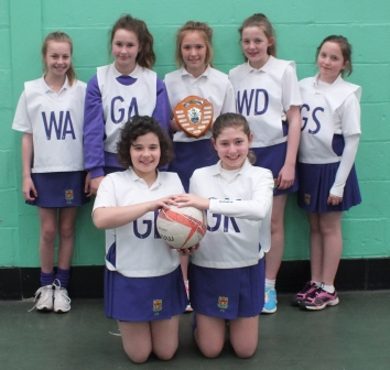 YR 7A NETBALL CHAMPIONS - BDSSA
