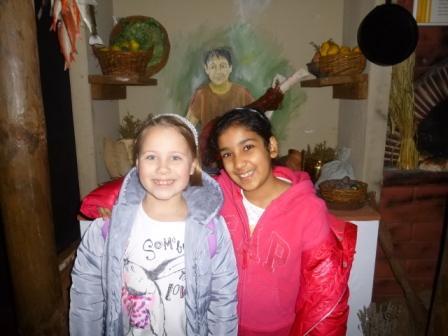 Charlotte Naylor and Gia Sarin