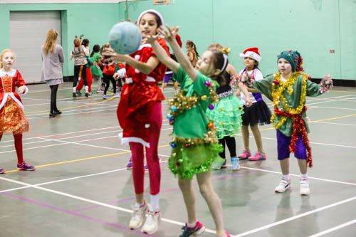 Girls Xmas Sports Party 16 17