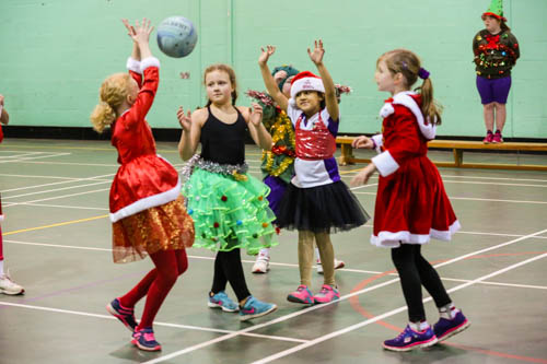 Girls Xmas Sports Party 16 18