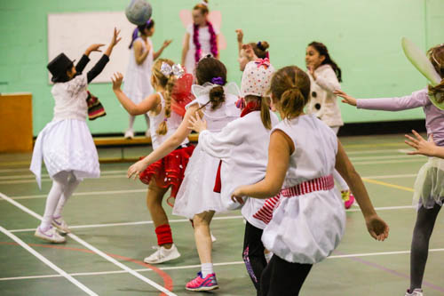 Girls Xmas Sports Party 16 19