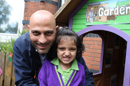 Dad Little girl