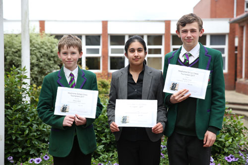 Chess Competition Winners