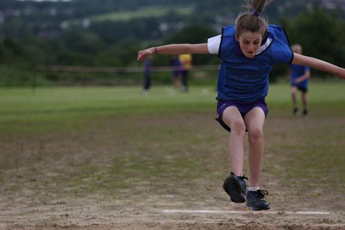 girl long jump