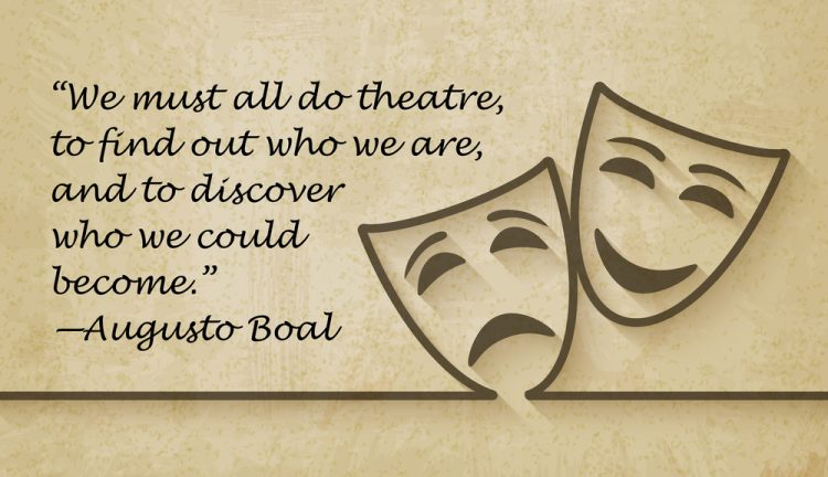 we must all do theatre