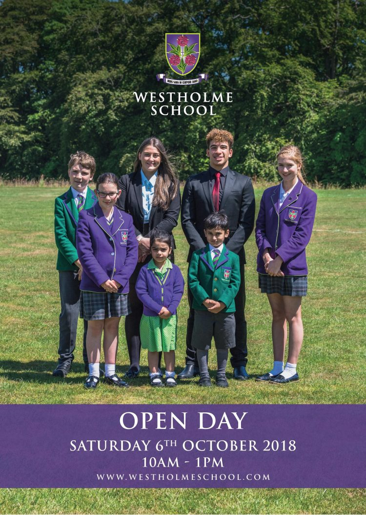 050396 04 Westholme Oct Open Day Magazine Ad HR page 001 edited