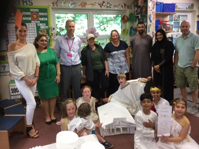 Year 3 Greek Day - Westholme School