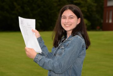 Westholme School, Blackburn GCSE Results Day - Amy Kirkwood