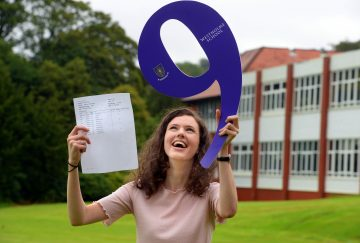 Westholme School, Blackburn GCSE Results Day - Jasmine Neild