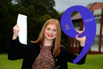 Westholme School, Blackburn GCSE Results Day - Natalia Lumb