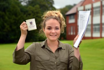 Westholme School, Blackburn GCSE Results Day - Nayha Williams