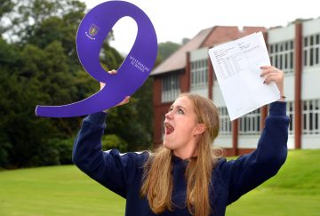 Westholme School, Blackburn GCSE Results Day - Rosie Pettinger