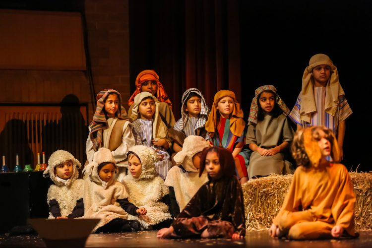 Pupils at Westholme Nursery and Infant school perform the nativity play