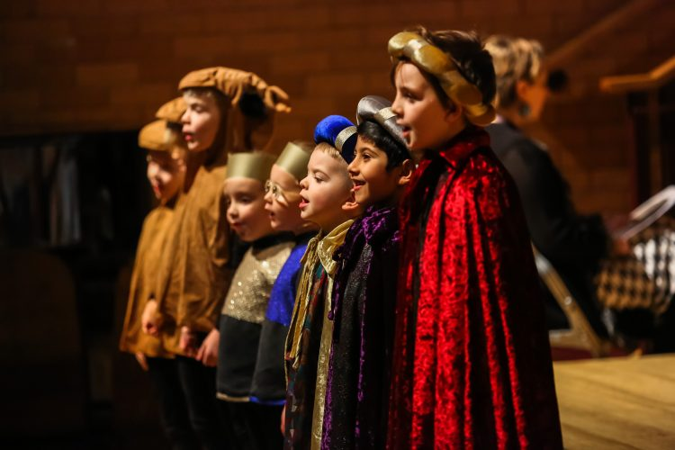 Pupils perform at Westholme Nursery and Infant school nativity play